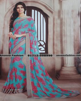 Vishal  Designer Georgette Saree VS9159